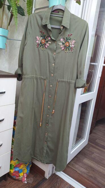 audi allroad 42 quattro в Кыргызстан: Платье рубашка состояние хорошее. На 42-44 размер