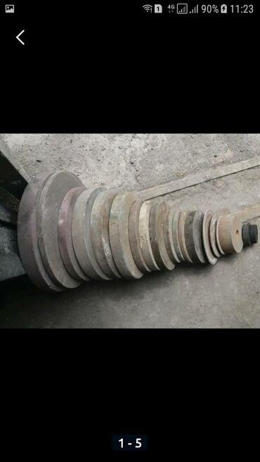 Другие инструменты - Кыргызстан: Круги наждачные разные Внутренние размеры 4х типов. В эксплуатации не