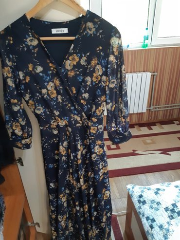 Продается б/у длинное платье, подойдет кормящим мамочкам