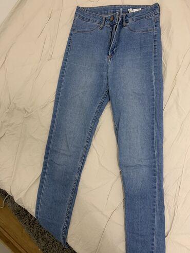 H&M high waist farmerice 650 DIN
