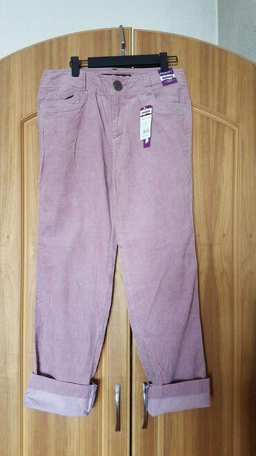 Штаны джинсы женские размер 30-32 новые вельвет Корея джинс