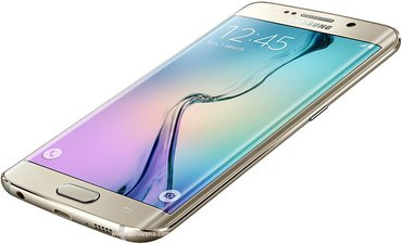 Second hand Samsung galaxy s6 edge in golden colour  manufactured on in Kathmandu
