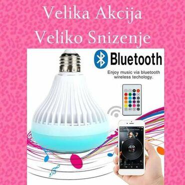 Sijalice - Beograd: VELIKA AKCIJA-VELIKO SNIŽENJELED Bluetooth Muzička Sijalica-Zvučnik sa