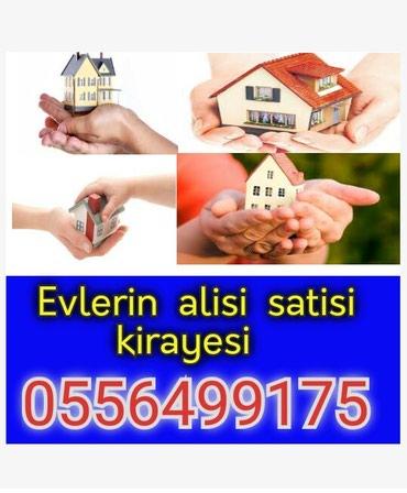 Emlak ev alqi satqi kiraye 430 azn icareye arendaya obyekt satdiq в Bakı
