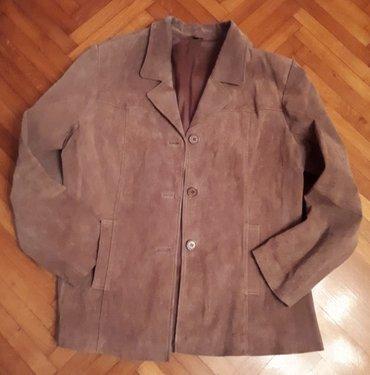 Muška kožna jakna, br. 42 - Smederevska Palanka