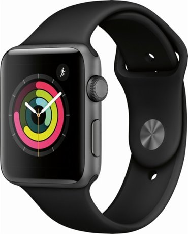 Bakı şəhərində Apple - apple watch series 3 (gps), 42mm space gray aluminum case with