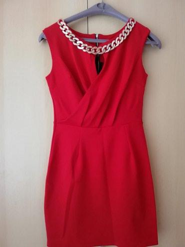 Crvena plisana haljina - Srbija: Nova crvena haljina, nikada nije nosena
