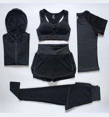 хир форма в Кыргызстан: Тренировочная форма для девушек 5в1, отличная цена и качество