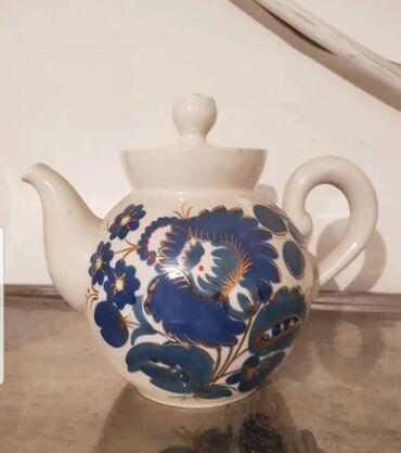 Чайники - Кыргызстан: Чайник фарфоровый Городицкий завод СССР Просмотрите профиль