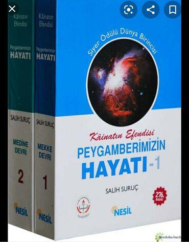 Dini və bədii kitablar. Minimum qiymət 3₼, maksimum isə 9₼ dır çox