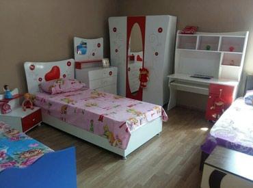 Bakı şəhərində Usaq mebeli fabrik istehsali, bazali.