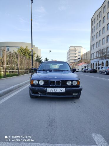bmw 525 1997 - Azərbaycan: BMW 525 2.5 l. 1992 | 337000 km