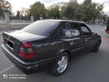 черный mercedes benz в Кыргызстан: Mercedes-Benz C-Class 2.8 л. 1995