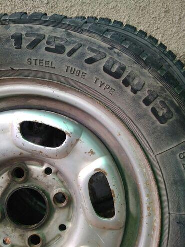 2 колеса 175/70/13 диски-wv,ауди резина зима-лето (разнопарка) цена
