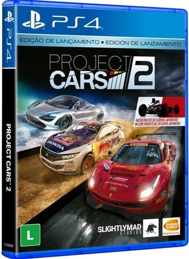 Bakı şəhərində Ps4 ucun Project Cars 2 oyunu teze upokovkada orginal catdirilma