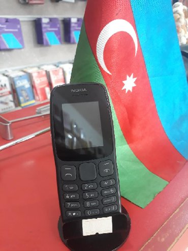 nokia-duos в Азербайджан: Nokia 106 duos2 nomre orginal az istifade olnub karopka adaptor var
