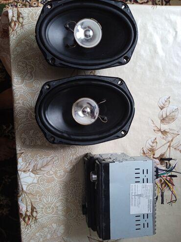 Электроника - Чалдавар: Продаю две колонки пионер и две магнитолы все за 2200 по отдельности
