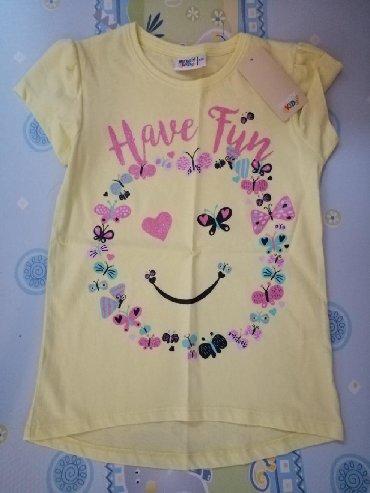 Majica sl sa - Srbija: Nova, sa etiketom majica kupljena u inostranstvu, za devojčice uzrasta