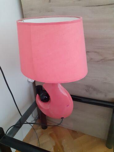 Lampe - Srbija: Roze-Pink . Lampa ogrebana sa strane
