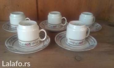 Soljice za kafu,porcelan - Belgrade