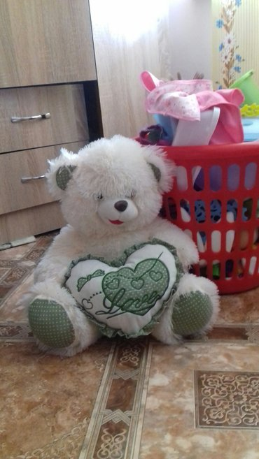 Медведь мягкая игрушка в отл состоянии. цена 300 в Бишкек