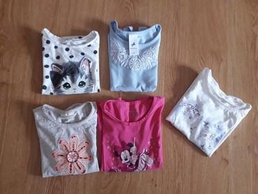 Za decu | Sremska Mitrovica: PAKET MAJICA 104 (velicina 4). Paket od 4+1gratis majica. CA, HM
