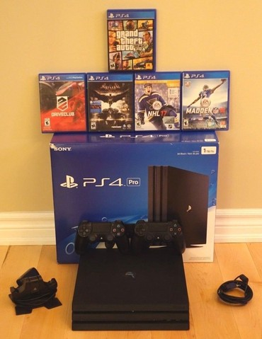 Sony PlayStation 4 Pro 1TB + 5 Free games σε Athens