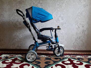 Детский трёх колёсный велосипед хорошем состоянии