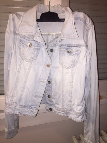 Malo nosena,teksas jakna,nema ostecenja!Velicina je L ali je manja pa - Belgrade