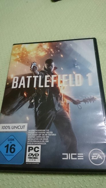 Battlefield 1 pc igrica novo - Backa Palanka