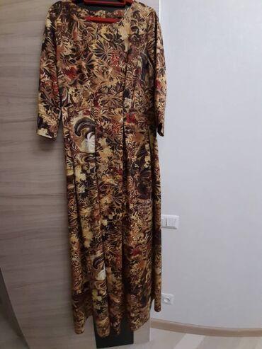 вечернее платья в пол в Кыргызстан: Платье вечернее 44р Турция очень хорошо сидит модель в пол