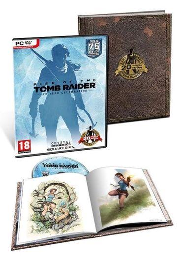 Коллекционный диск игры Tom Rider 20 year celebration