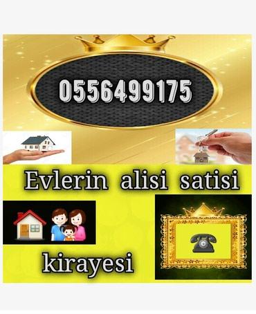 Bakı şəhərində Emlak ev alqi satqi kiraye 610 azn icareye arendaya obyekt satdiq