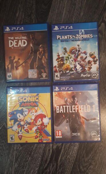 Продаю или меняю игры на Sony Playstation4. Игры все на Английском