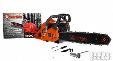 Motorna testera demon 3ks  +POKLON dva ulja oregon i zaštitne - Subotica