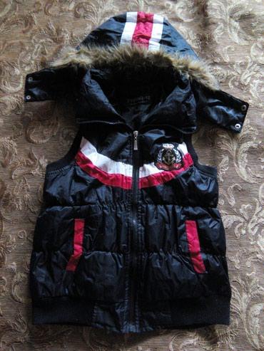 Женская теплая жилетка, темно-синяя, в Бишкек
