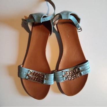 Sandale broj 38 gaziste 24 cm. Bez ostecenja  - Prokuplje