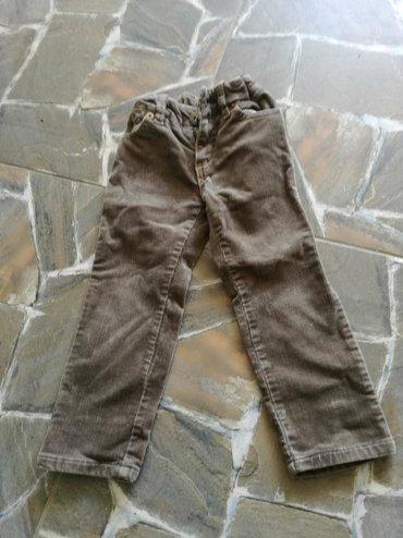 Somot pantalone,zadecu od 2-4god