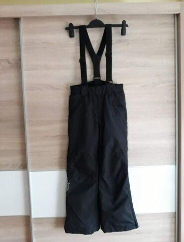 Crne pantalone - Srbija: Ski pantalone za decaka 140