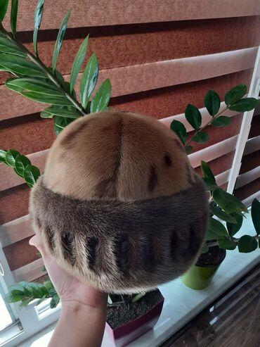 Головной-убор-норковые - Кыргызстан: Продаю норковую шапку. Состояние идеальное