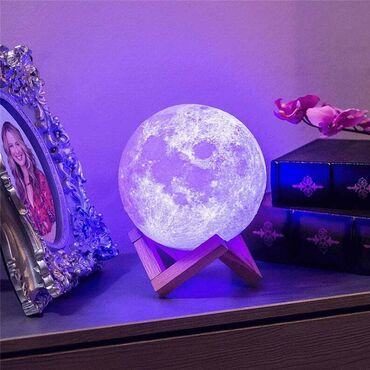 Branje malina - Srbija: HIT! Moon (mesec) lampa 3D NOVONe propustite ovu hit lampu inovativnog