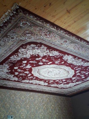 Bakı şəhərində Tebriz xalcasidir. Yenidir. olculeri 3m eni 4m uzunu. magazada satisi