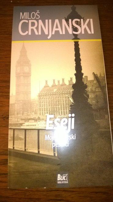 Milos crnjanski eseji - Belgrade