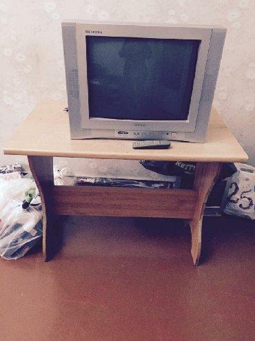 Televior yox stol satılır qiymeti 25 azn. Bu nomreyle elaqe saxlayin