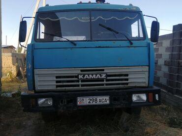 Транспорт - Кызыл-Туу: Продаю камаз десятка вал стондарт, атономка, калеса передок