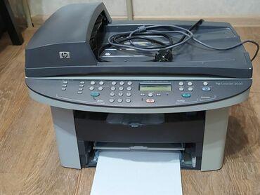ксерокс купить в Кыргызстан: Продаю лазерный MФУ 4 в 1. Принтер, ксерокс, сканер, факс. Модель HP
