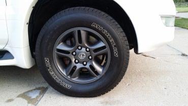 rolls royce silver spur в Кыргызстан: Диски БЕЗ Резины Lexus GX470 silver sport R17