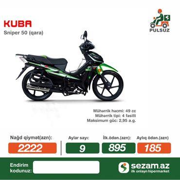 Motorsikletlər nağd çox ucuz qiymətə satılır. Daxili kredit var