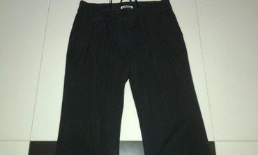 Pantalone na peglu padaju ravno crna boja velicine m i l - Backa Palanka