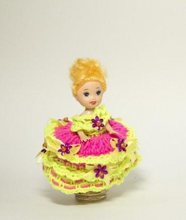 Игрушки - Лебединовка: Отличный подарок, ручная работа, так же можно связать платье на заказ